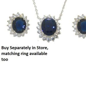 NWT jewelry set princess kate diana earring neck